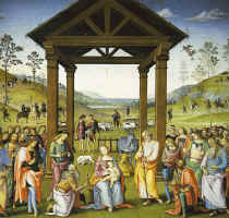 "Il Perugino ""The Adoration of the Magi"""